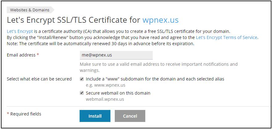 Let's Encrypt | HostNexus