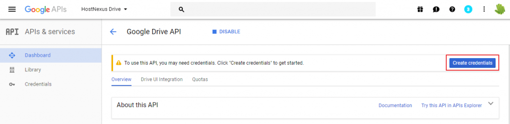 create-credentials-google-drive-api