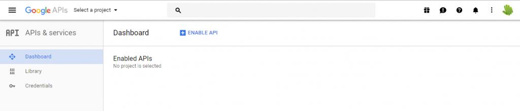 google-api-console