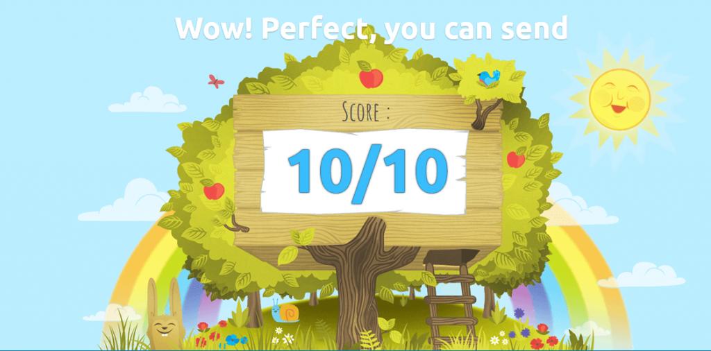 mail-tester.com perfect score