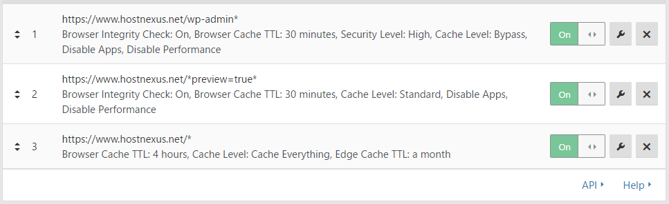 Cloudflare Page Cache Rules